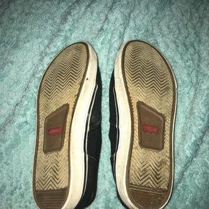 Black Levi's Shoes